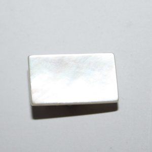 Vintage mother of pearl tie clip